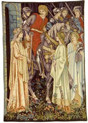The Holy Grail - left panel