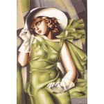 Green Dress Tamara de Lempicka