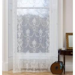 Olivia Scottish Lace  Panel Ivory