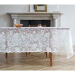 Flora Ivory Tablecloth