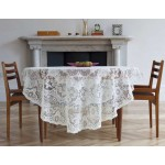 Derby Ivory Tablecloth