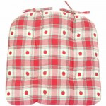 Apple Gingham Chunky seat pad