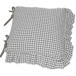 Auberge Frilled Cobble seat pad