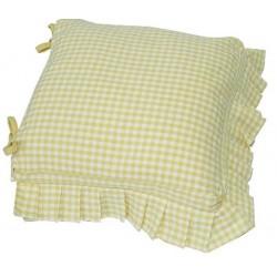 Auberge Frilled Sunflower seat pad