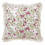 Amelia frilled cushion cover