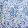 William Morris Blue Compton Unlined Kitchen Curtains