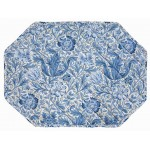 William Morris Blue Compton place mat