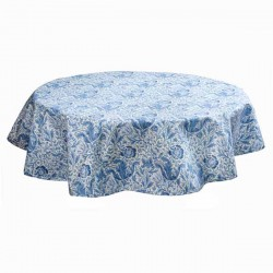 William Morris Blue Compton PVC tablecloth