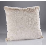 Beige Frost Fur Cushion