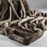 Brown Snow Fox Faux Fur