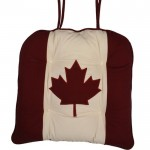 Canadian Flag chunky seat pad