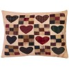 Country Hearts - Plaids and Checks Tea Dyed