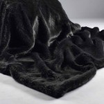 London Charcoal Faux Fur