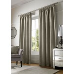 chenille cream tape curtains