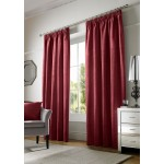 chenille red tape curtains