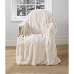 Darcey faux fur throw