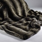 Dark Brown Alaska Fox Faux Fur