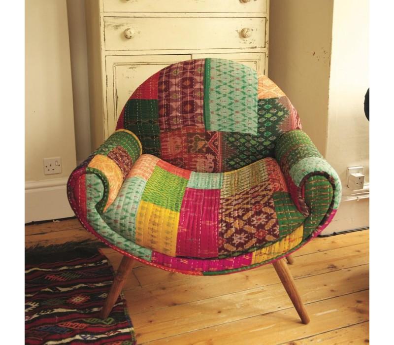 Retro Kantha Chair