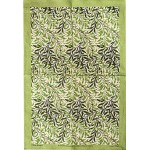 William Morris Green Willow Gallery Tea Towel