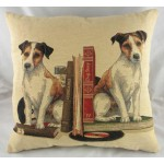 Bookends Jack Russell Cushion