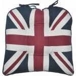 London Union Jack chunky seat pad