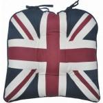 London Union Jack chunky seat pad