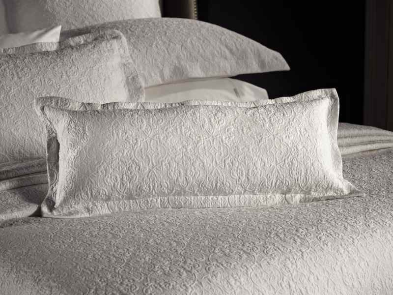 Lawlor White Sateen Bed Cover