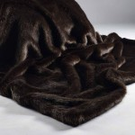 London Brown Faux Fur