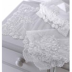 Louisa embroidered net table runners
