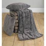 Marilyn Faux Fur Bed Throw Mink