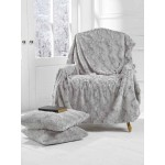 Marilyn Faux Fur Throw Dove Grey