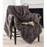 Marilyn Fur Throw Grey