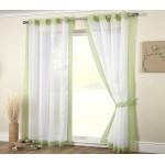 Mayfair eyelet panel lime