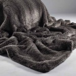 Grey Oyster Faux Fur