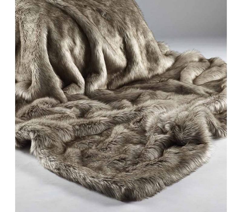 Siberian Wolf Faux Fur
