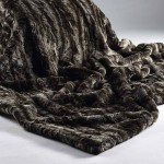 Silver Andes Faux Fur