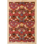 William Morris Strawberry Thief Crimson Tea Towel