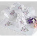 Sweet Pea Tissue Box Cover