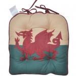 Wales Flag chunky seat pad