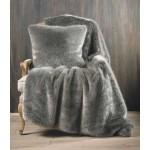 Wild Mink faux fur throw