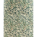 Willow Bough Green curtains
