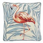 Amazon Flamingo Cushion