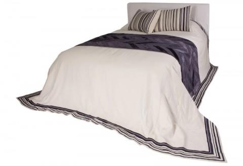 Boho Linen Bedspread