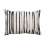 Artisan Jute Barcode Cushion Oblong