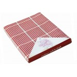 Auberge Red Tablecloth