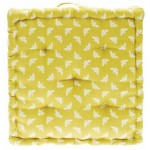 Bee Ochre  Mattress seat cushion
