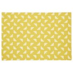 Bee Ochre  place mat set of  two