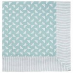 Bee Opal  tablecloth striped border