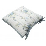 Bluebell Cottage Cushion Cover with Ties