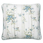 Bluebell Cottage Cushion cover piped